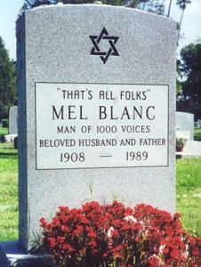 RIP and Thank you Mel Blanc