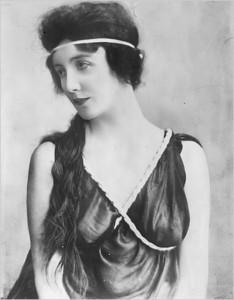 "Audrey Munson, the ""American Venus"""