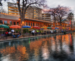 The San Antonio River Walk