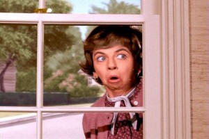Gladys Kravitz, the nosy neighbor. [8]