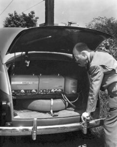 1946 -- First Mobile Car Phone support equipment