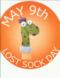 May 9 is Lost Sock Memorial Day