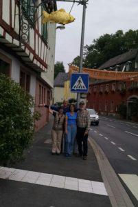 Farewell in Aschaffenburg