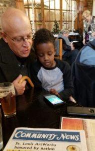 "Tory and ""Grandpa"" Joe"